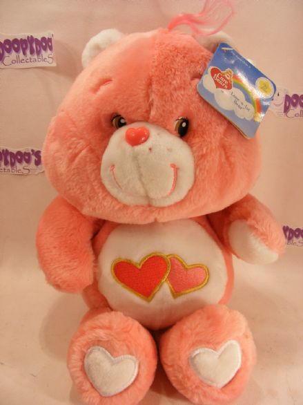 "BNWT 20TH ANNI 18"" LOVE-A-LOT CAREBEAR CARE BEARS"
